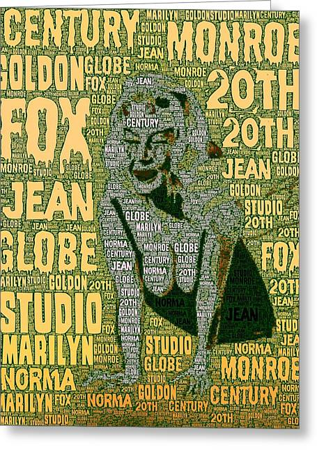 Norma Jean Greeting Cards - Norma Greeting Card by Mark J Dunn