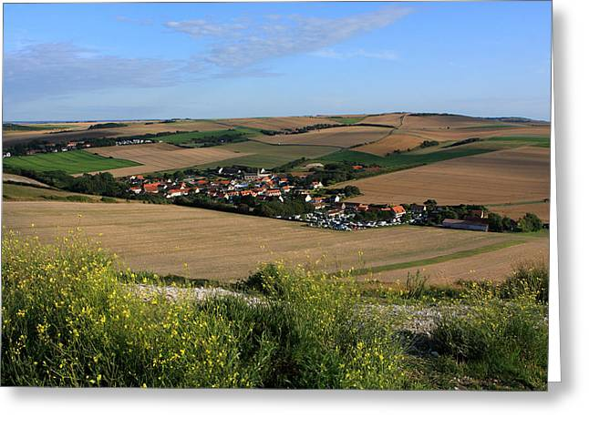 Quite Greeting Cards - Normandy - France Greeting Card by Aidan Moran