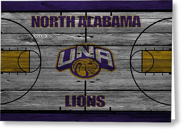 Division Greeting Cards - North Alabama Lions Greeting Card by Joe Hamilton