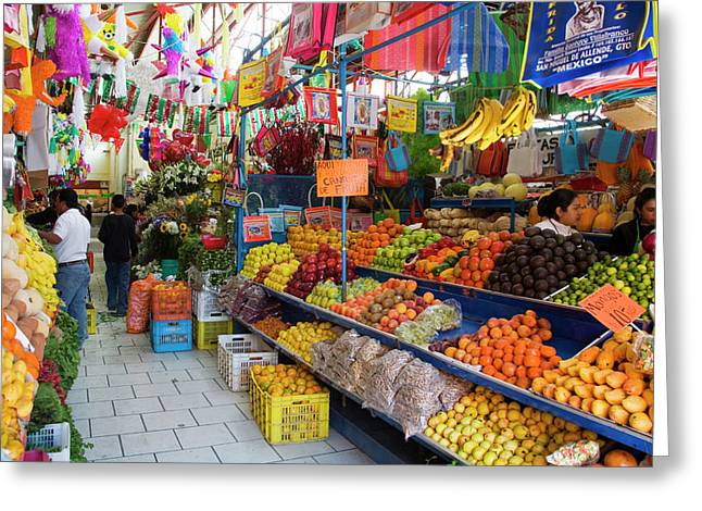 North America, Mexico, Guanajuato Greeting Card by Julie Eggers