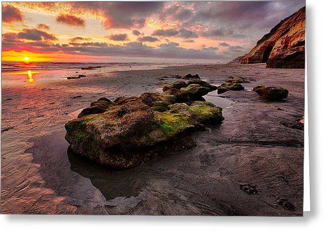 Beach Images Greeting Cards - North Beach Rock II Greeting Card by Peter Tellone