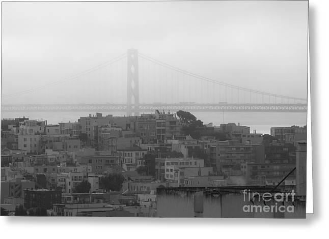 Oakland Neighborhood Greeting Cards - North Bridge Greeting Card by Craig Pearson