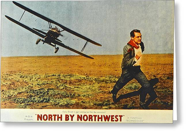 Bacall Greeting Cards - North By Northwest Greeting Card by Frozen in Time Fine Art Photography