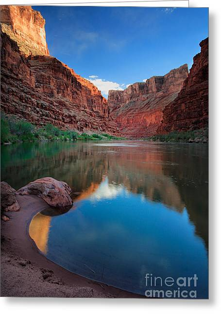 Sculpt Greeting Cards - North Canyon Number 1 Greeting Card by Inge Johnsson