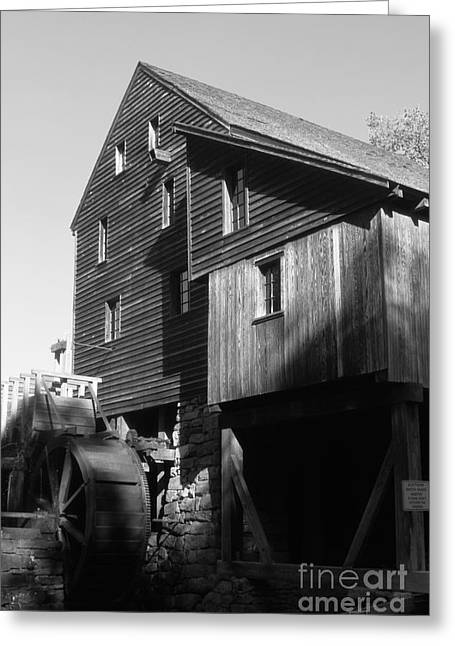 Old Feed Mills Photographs Greeting Cards - North Carolina mill Greeting Card by Dwight Cook