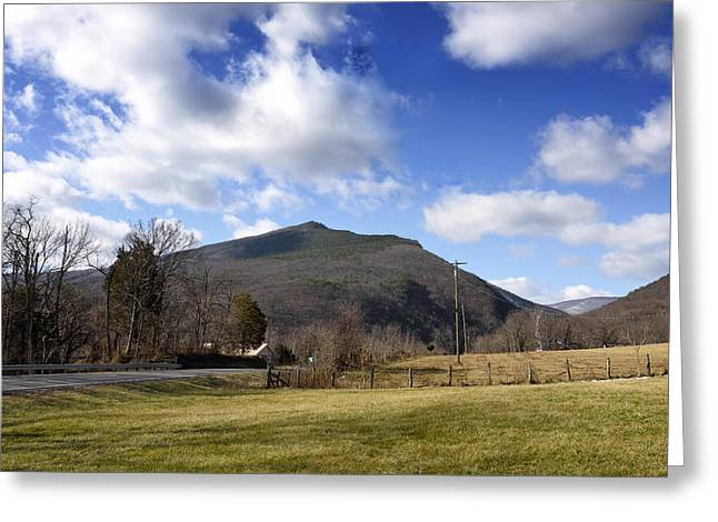 West Fork Greeting Cards - North Fork Mountain - Petersburg WV Greeting Card by Brendan Reals