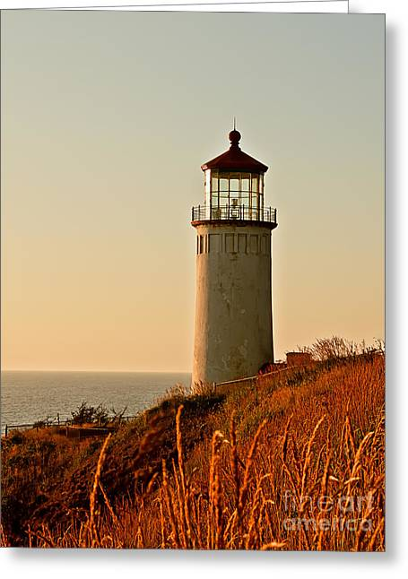 Aid To Navigation Greeting Cards - North Head Lighthouse Greeting Card by Robert Bales
