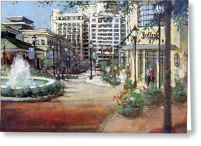 Renaissance Center Greeting Cards - North Hills Vista Greeting Card by Dan Nelson