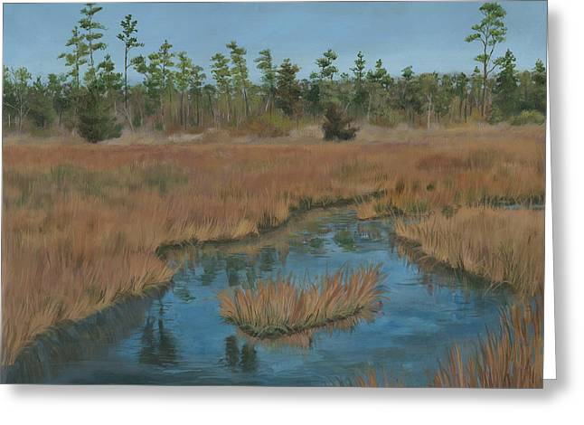 Edward Williams Greeting Cards - North Landing State Park VA Greeting Card by Edward Williams