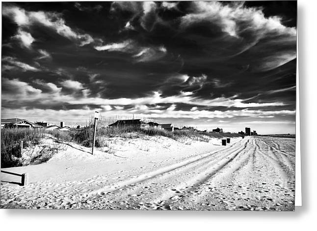 Photo Art Gallery Greeting Cards - North Myrtle Beach Greeting Card by John Rizzuto