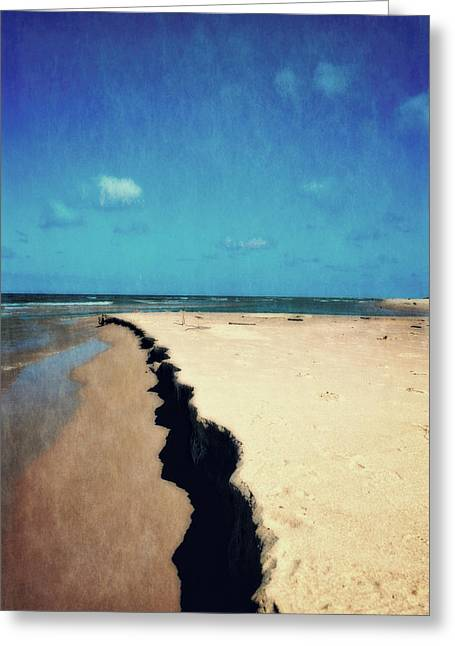 Michelle Greeting Cards - North of Big Sable Point Greeting Card by Michelle Calkins