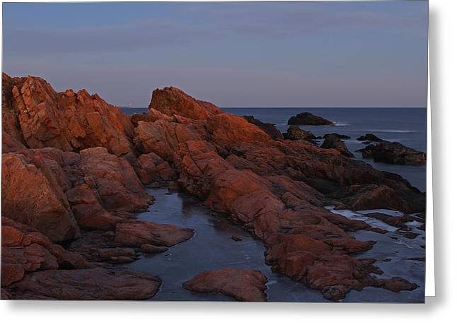 Boston Ma Greeting Cards - North of Boston Greeting Card by Juergen Roth