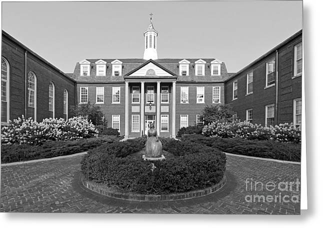 Evangelical Greeting Cards - North Park College Nyvall Hall Greeting Card by University Icons