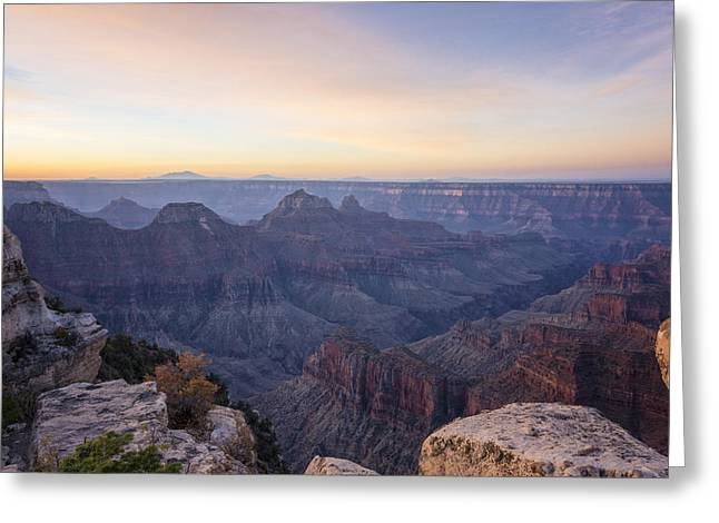 North Rim Greeting Cards - North Rim Sunrise 2 - Grand Canyon National Park - Arizona Greeting Card by Brian Harig