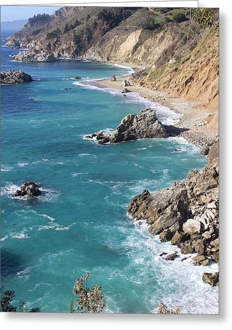 Pfeiffer Beach Greeting Cards - North Shore Greeting Card by FlyingFish Foto