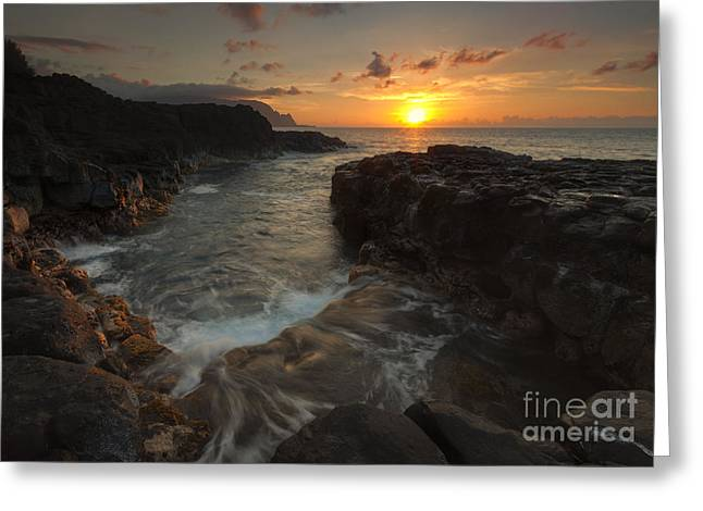 North Shore Greeting Cards - North Shore Paradise Greeting Card by Mike  Dawson