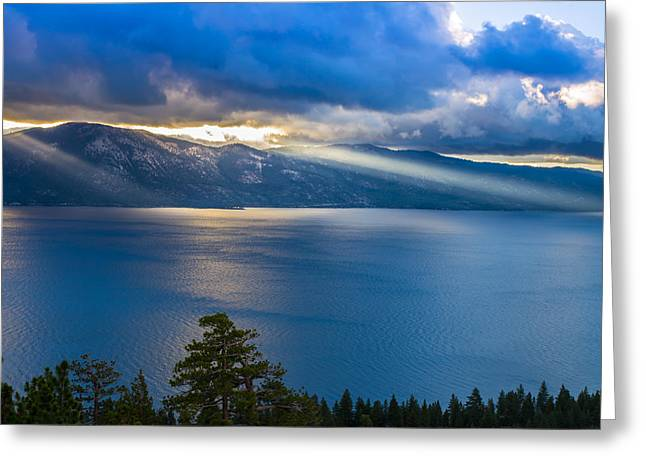 Incline Greeting Cards - North Shore Sunrise Greeting Card by Marc Crumpler