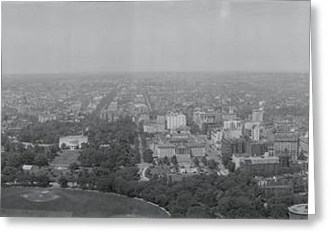 Capitol Greeting Cards - North View Washington Dc Greeting Card by Panoramic Images