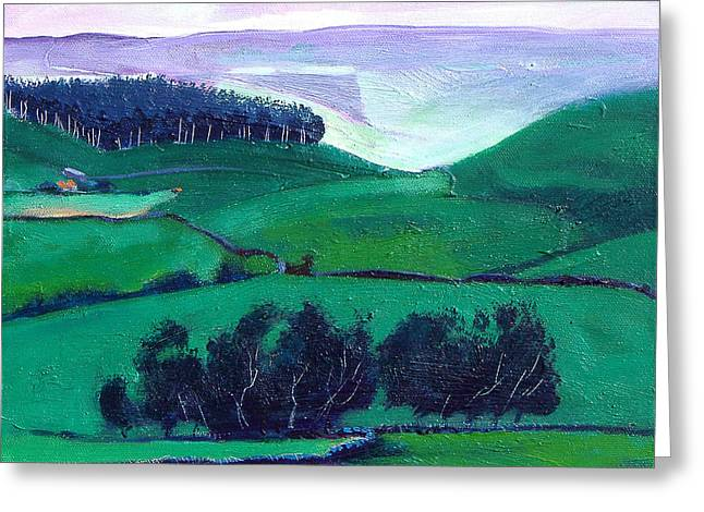 Moorland Greeting Cards - North York Moors Copse Greeting Card by Neil McBride