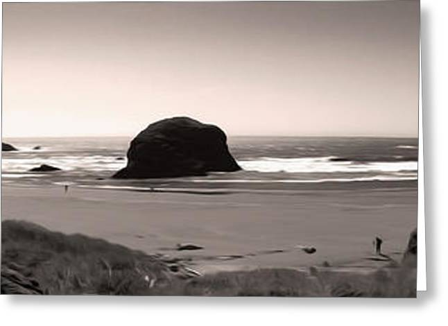 Gregory Dyer Greeting Cards - Northern California Coast - 03 Greeting Card by Gregory Dyer