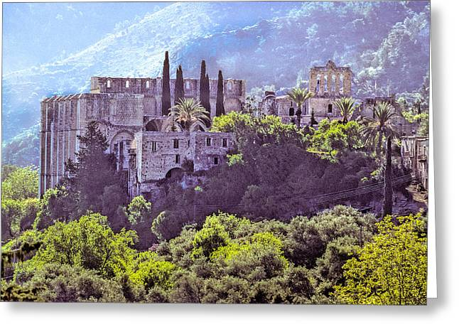 Kloster Greeting Cards - Northern Cyprus - Bellapais Abbey Greeting Card by Martin Liebermann