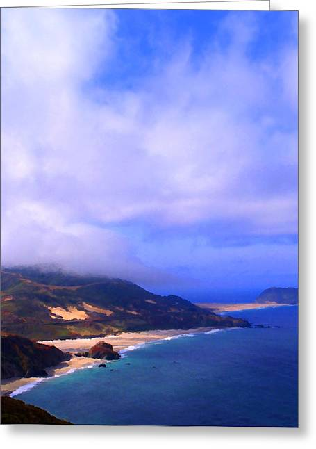 Big Sur California Greeting Cards - Northern Exposure Greeting Card by Ron Regalado
