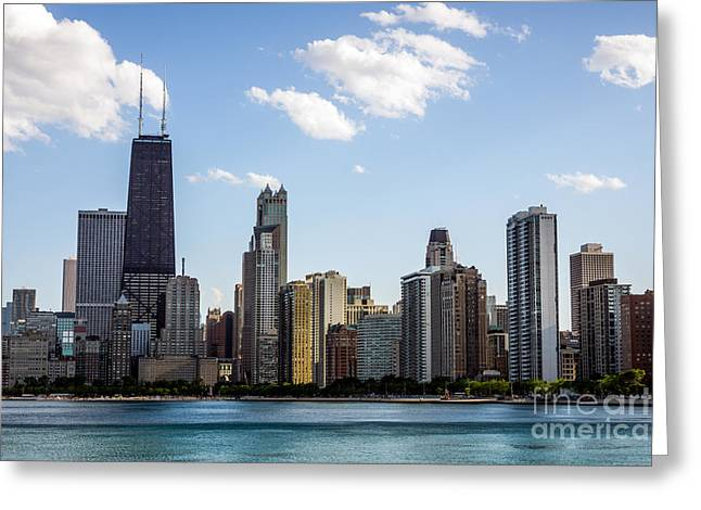Gold Coast Greeting Cards - Northern Gold Coast Skyline in Chicago Greeting Card by Paul Velgos