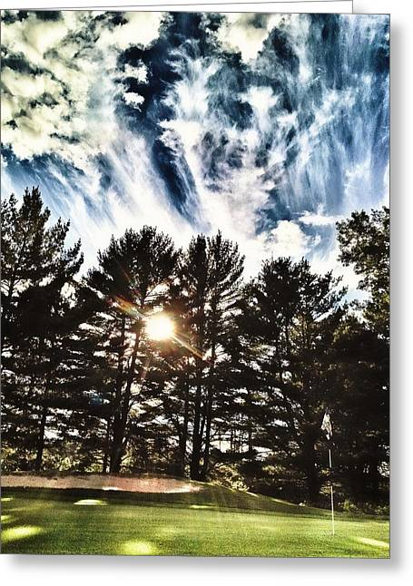 Patrick Greeting Cards - Northern Golf Course Greeting Card by Patrick