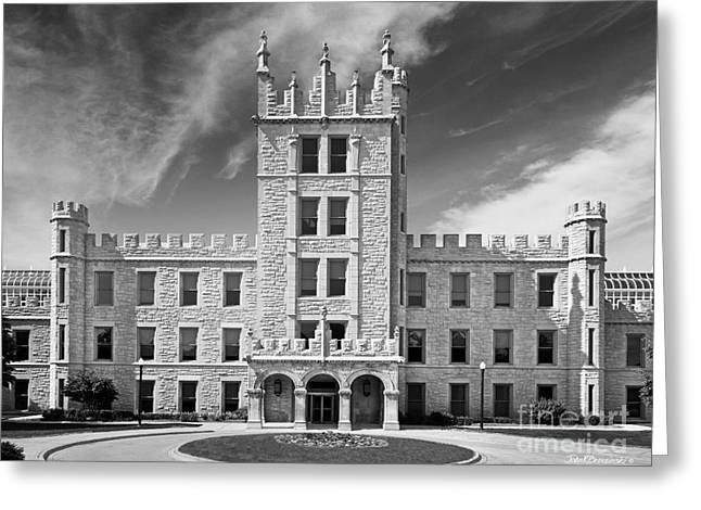 Northern Illinois University Greeting Cards - Northern Illinois University Altgeld Hall Greeting Card by University Icons