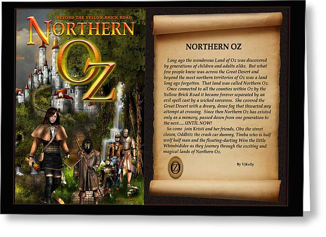 Master Potter Greeting Cards - NORTHERN OZ cover and intro 48 Greeting Card by Vjkelly Artwork