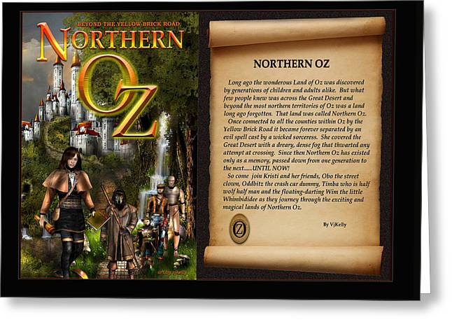 Northern Oz Cover And Intro 48 Greeting Card by Vjkelly Artwork