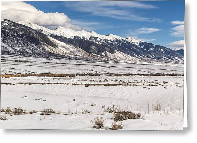 Northern Sangre De Cristo Greeting Card by Aaron Spong