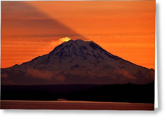 Tacoma Photographs Greeting Cards - Northwest Glory Greeting Card by Benjamin Yeager