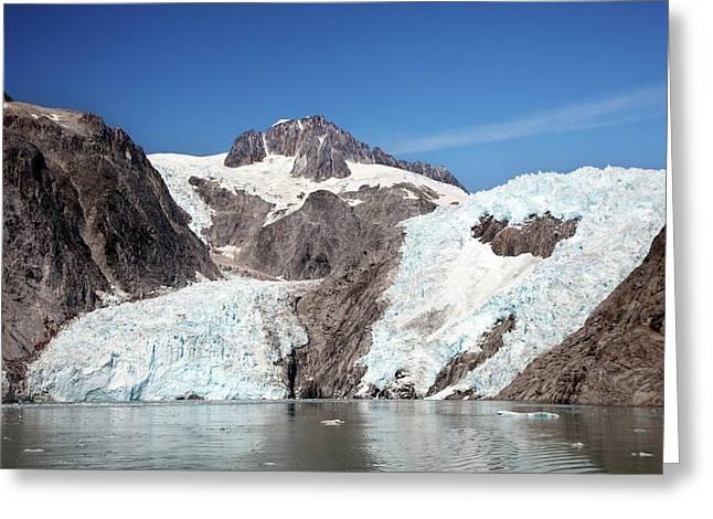 Northwestern Glacier Greeting Card by Jim West