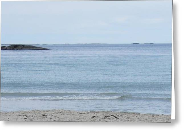 Beaches Of Norway Greeting Cards - Norway beach Greeting Card by Beverly Little