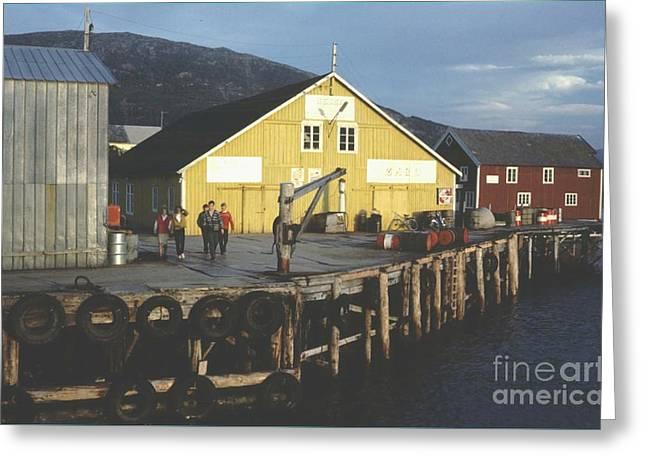 Loray Greeting Cards - Norway Loray Island Greeting Card by Ted Pollard
