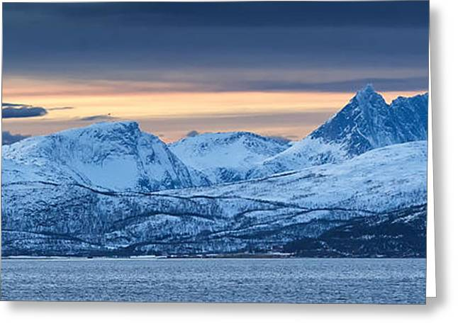 Norwegian Coast Greeting Card by Wade Aiken