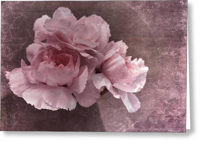 Cracked Photographs Greeting Cards - Nostalgia Greeting Card by Priska Wettstein