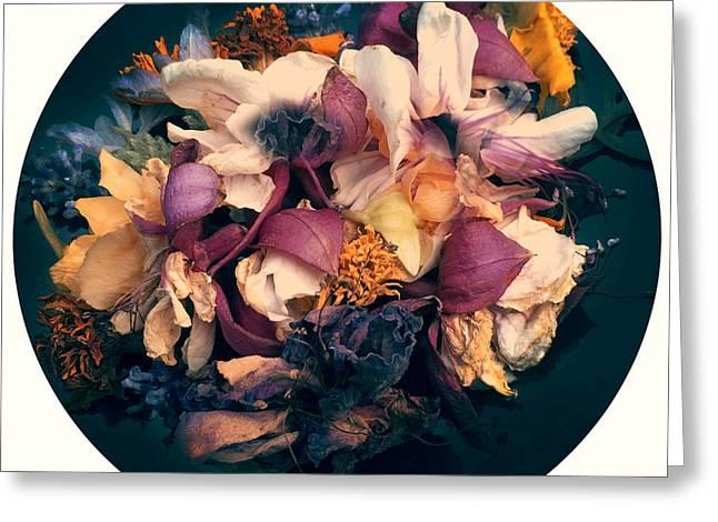 Nostalgic Flowers Greeting Card by Renata Vogl