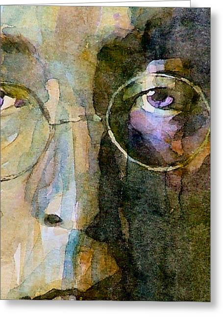 Beatles Paintings Greeting Cards - Nothin Gonna Change  My World  Greeting Card by Paul Lovering