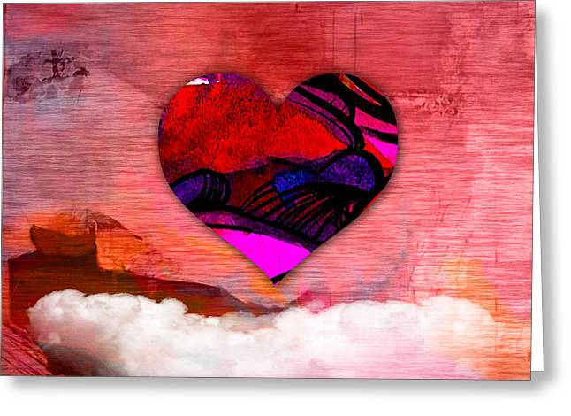 Mothers Day Greeting Cards - Nothing But Love Greeting Card by Marvin Blaine