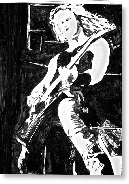 Metallica Greeting Cards - Nothing else matters Greeting Card by Funk Art