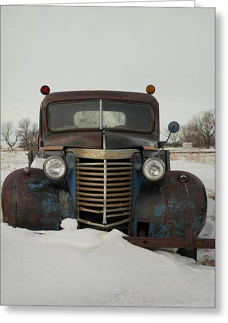 Old Trucks Greeting Cards - Nothing Like An Old Truck Greeting Card by Jeff  Swan