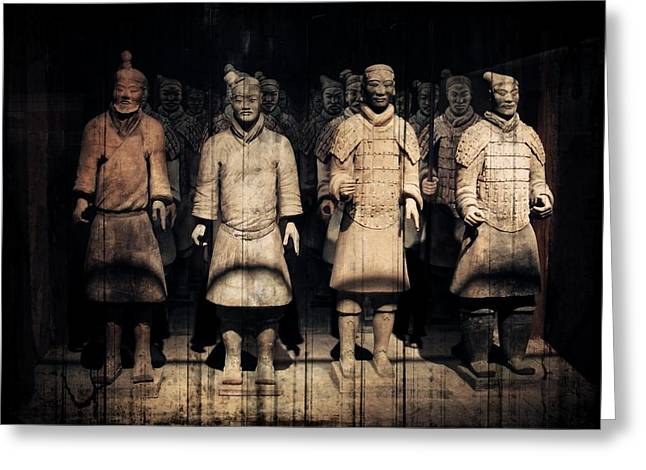 Shaanxi Province Greeting Cards - Nothing to Kill or Die For Greeting Card by Zinvolle Art