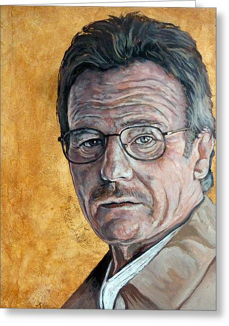 Breaking Bad Greeting Cards - Nothing to Lose Greeting Card by Tom Roderick