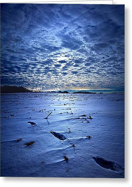 Geographic Greeting Cards - Nothing to See Here Greeting Card by Phil Koch