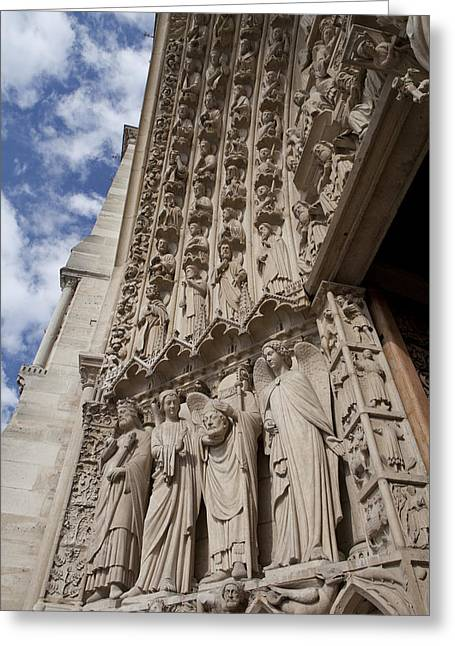 Notre Dame 3 Greeting Card by Art Ferrier