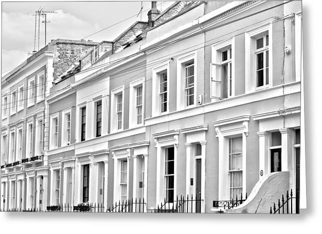 Chelsea Greeting Cards - Notting Hill Greeting Card by Nomad Art And  Design