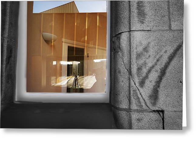Photo Art Gallery Paintings Greeting Cards - Nottingham Contemporary Greeting Card by Charles Stuart
