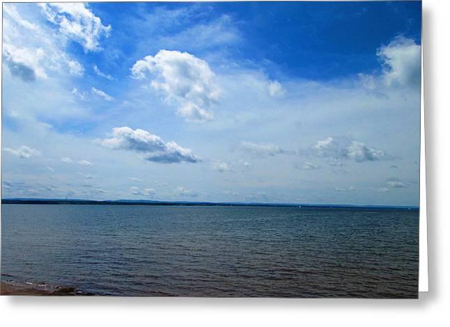 Nova Scotia Photographers Greeting Cards - Nova Scotia Sky Greeting Card by Larry Matthews